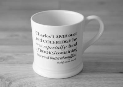Slightly Foxed mug